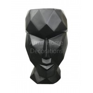 Donica designerska - głowa, czarna, S
