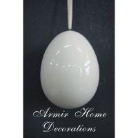 Duże jajko wiszące