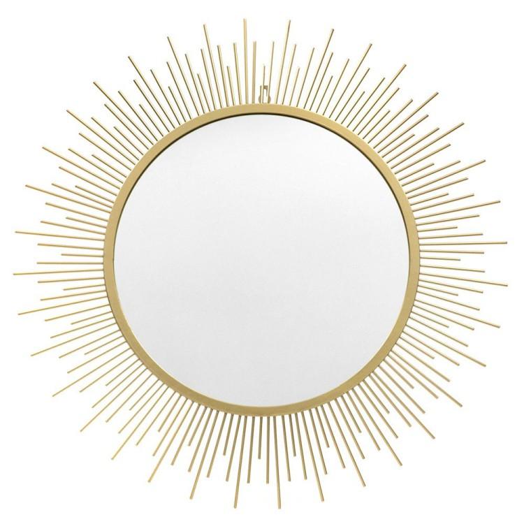 Lustro słońce, złote, L