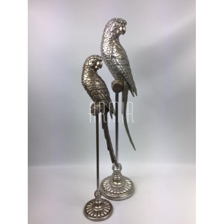 Figurka papuga, M